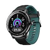 LUWEI Gesundheitsportarten Smart Watch, IP68 wasserdicht Full Touch Screen Fitness Tracker mit Herzfrequenz & Schlafmonitor für Android iOS,Grün