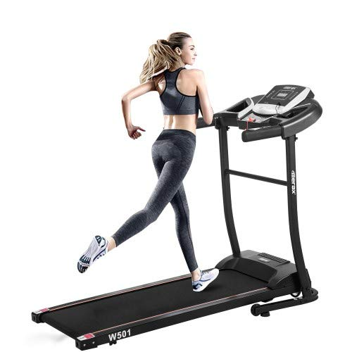Best Price BEW Folding Electric Treadmill for Running, Motorized Running Machine for Exercise, Exerc...
