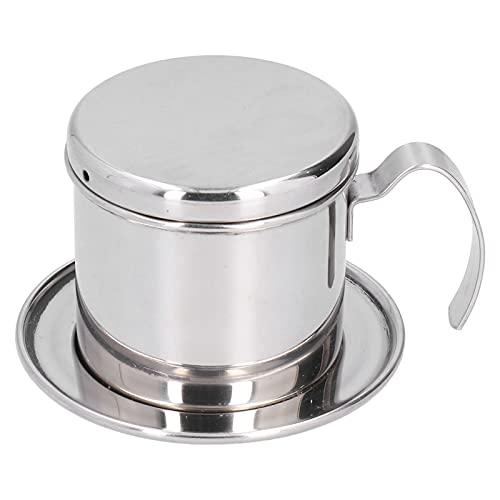 Prensa vietnamita para máquina de filtro de café, cafetera vietnamita con filtro para máquina de café, cafetera portátil, cafetera manual para oficina, hogar, restaurante, cafetería
