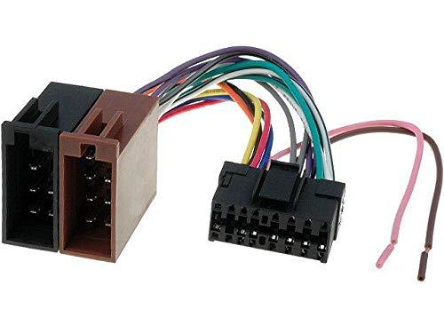 Cable Faisceau Connecteur ISO SONY autoradio 16 pins