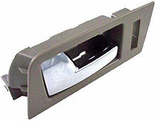 Price comparison product image Dorman 81776 Front Driver Side Interior Door Handle for Select Ford Models,  Gray and Chrome
