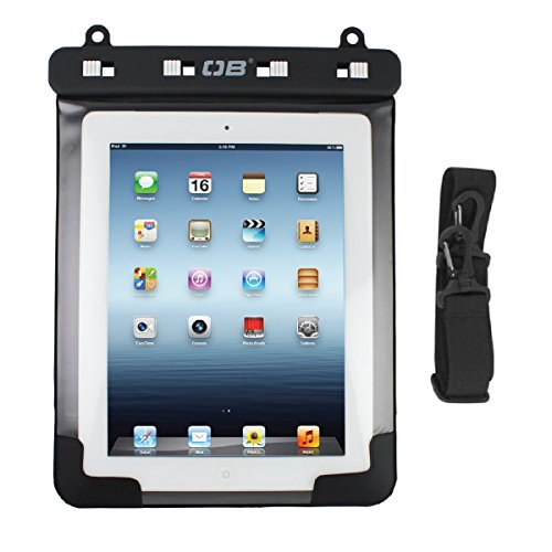 Overboard Waterproof iPad Case, Black