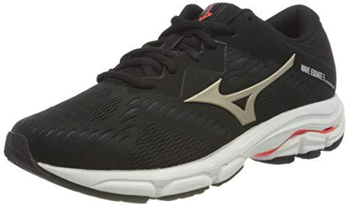 Mizuno Wave Equate 5, Scarpe per Jogging su Strada Donna, Poro Nero Acceso, 37 EU