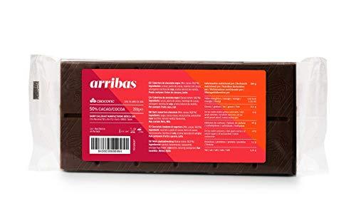 Chocovic Tableta de Chocolate Negro Arriba 50%, 200 Gramos