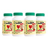 ChildLife Essentials - Pure DHA Soft Gel Capsules for Infants, Babys, Kids, Toddlers, Children, and Teens - 4 Pack of 90 Count Bottles