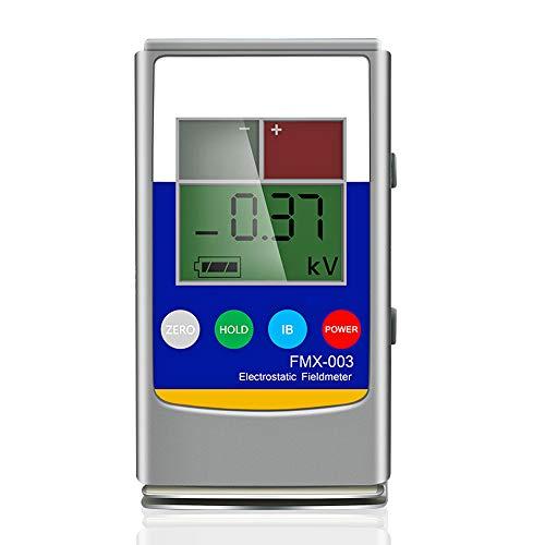 NEWTRY FMX003 - Tester elettrostatico, tester di elettricità statica, misuratore di campo statico