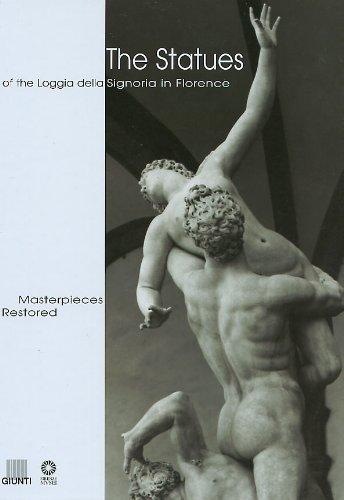 The statues of the Loggia della Signoria in Florence