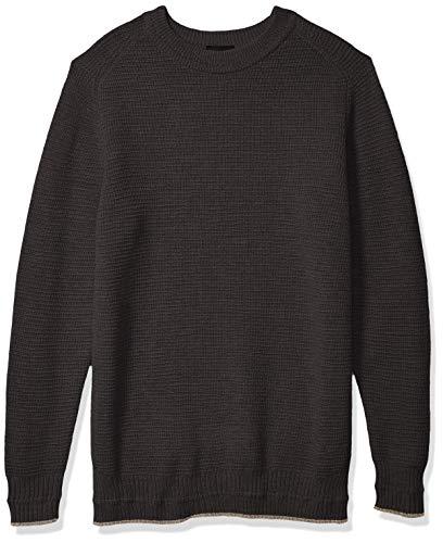 Hanro Herren Knits Pullover Pyjama-Oberteil (Top), Granit, Mittel