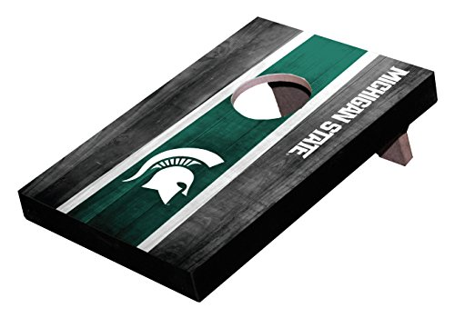 Wild Sports NCAA College Michigan State Spartans Mini Cornhole Game