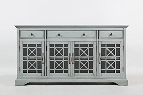 Jofran: , Craftsman, 60' Media Unit, 60'W X 19'D X 32'H, Earl Grey Finish, (Set of 1)