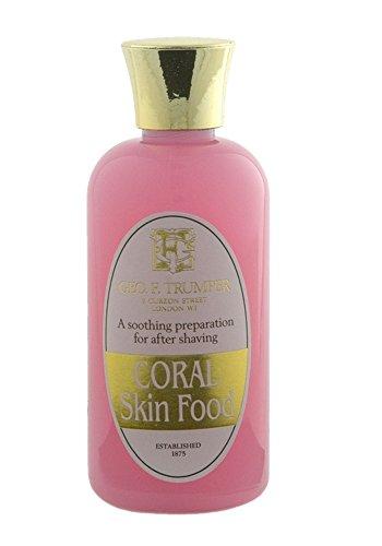Geo F. Trumper Coral Skin Food 100ml Travel Bottle by Geo F. Trumper