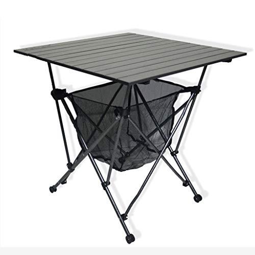 LXJ Die Bewegliche Falten Tisch Aus Aluminium, Große Kapazität Im Freien Picknick-Tisch, Selbstfahr Camping Grill Camping Strand Tisch