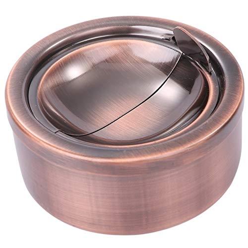 (ルボナリエ) 灰皿 スタンド灰皿 喫煙具 灰皿おしゃれ 屋外灰皿 喫煙 ashtray (Bronze)