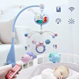 zhichu985 Bell Crib Baby Crib Rotation Soothing Bell Newborn Educational Infants Toddlers Toy with...