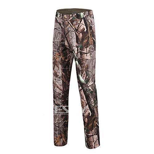 Bruce Lin Homme Militaire Tactique Camouflage Softshell Pantalons Doublé Polaire Hiver Outdoor Chaud Imperméable Randonnée Pantalon Armée Camo Combat Pantalons pour Camping Chasse Travail