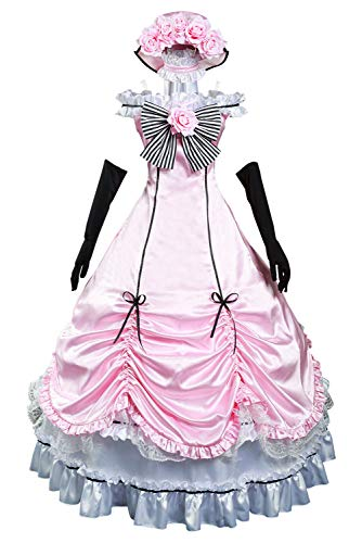 Bilicos Anime Ciel Phantomhive Dress - Disfraz de Halloween