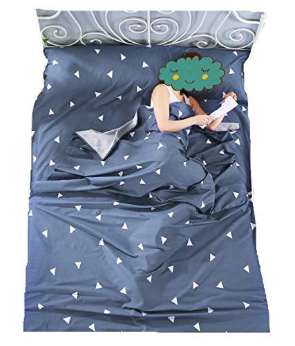 Stillshine Saco Dormir Algodón Sábana Saco Dormir