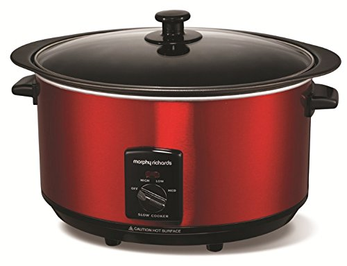 Morphy Richards Accents 461000 Schonkocher, 6,5 l, Rot