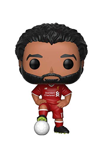 Funko- Pop. Vinyl: EPL: Liverpool: Mohamed Salah Collectible Figure, Multicolor (29217)