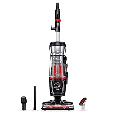 Hoover MAXLife Pro Pet Swivel HEPA Media Vacuum Cleaner, Bagless Upright for Pets Hair and Home, Black, UH74220PC
