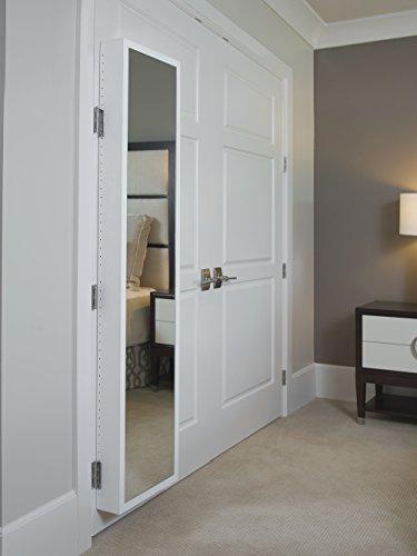 Cabidor Deluxe   Mirrored   Behind The Door   Adjustable   Medicine, Bathroom, & Kitchen Storage Cabinet