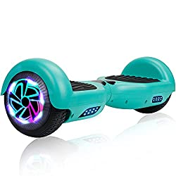 top 10 hoverboards for kids JOLEGE Hoverboard, 6.5 inch Auto Balance Hoverboard (for 2 wheels) – LED Light Scooter for Kids