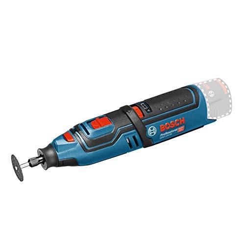 Bosch Professional GRO 12V-35 - Miniherramienta a batería (12V, 5000 – 35000 rpm,...