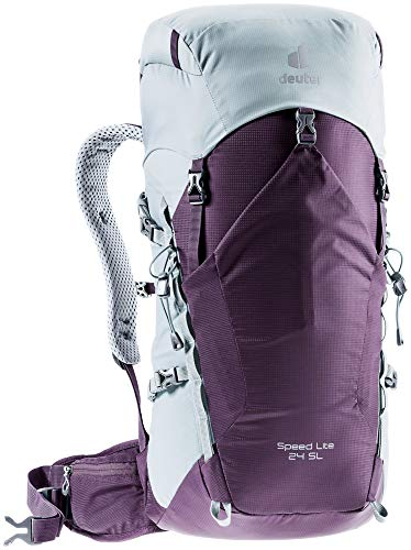 Deuter Speed Lite 24 SL, Zaino da Escursionismo Women's, Plum-Tin, 24 L