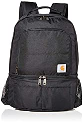 small Carhartt 2-in-1 Insulated Cooler Backpack, Black
