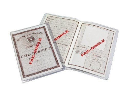 Set 5 Custodie protettive per Carta D'Identità