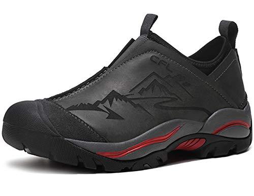 SINOES Herren Mesh Atmungsaktiv Outdoor Off-Road Running Wandern Schuhe Trekking Camping Turnschuhe Lace-up Low-Top Sports Casual Footwear