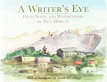 Writer's Eye: Field Notes and Watercolours 0810917920 Book Cover