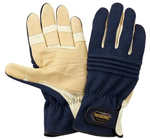 KN-213 (L) 消防 革手袋 消防団 訓練 防災手袋 災害 手袋 消防手袋 ケブラー 消防 手袋 PROHANDS 富士グローブ プロハンズ