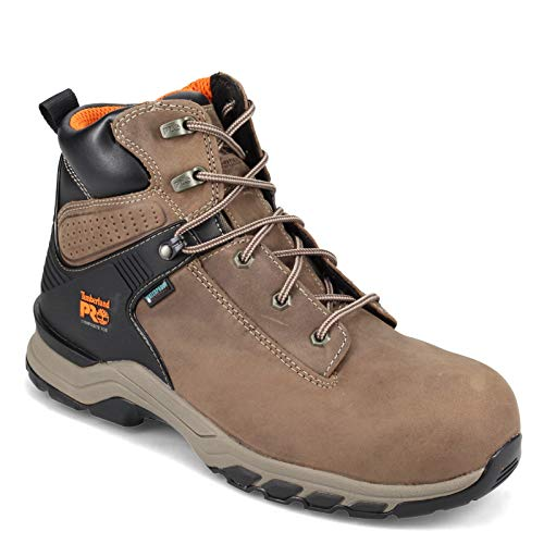"""Timberland PRO Men's Hypercharge 6"""" Composite Safety Toe Industrial Boot, Turkish Coffee, 11.5 Wide"""