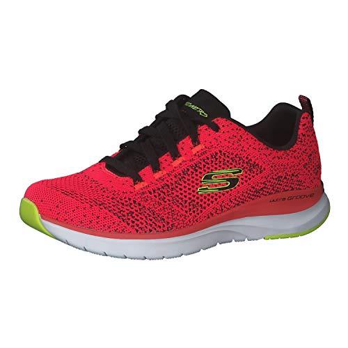 Skechers Zapatillas para mujer Ultra Groove., color Rojo, talla 38 EU