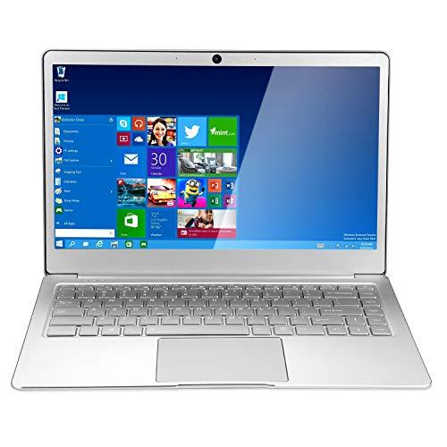 Nrpfell 14 Pulgadas 8GB RAM DDR4 256GB SSD Notebook Intel Celeron J3455 PortáTiles de Cuatro NúCleos con Pantalla FHD 1920X1080 Computadora PortáTil (Enchufe de la UE)