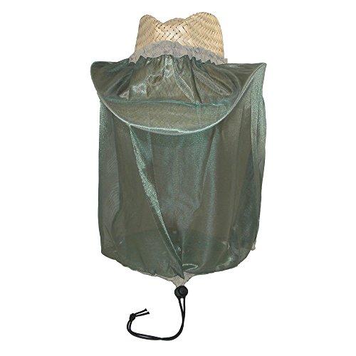 Dorfman Pacific Unisexe Chapeau de moustiques et insectes Net, Kaki