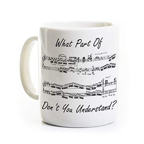 Music Humor Coffee Mug