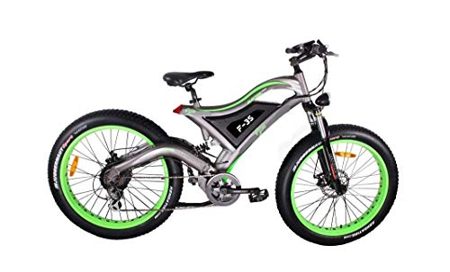 Bpmimports BPM F35 Full Suspension Fat TIRE Electric Bike Bicycle !14AH Samsung Battery BAFANG Motor