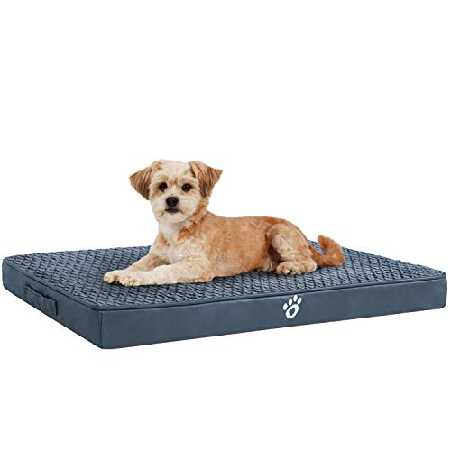 OQQ Pet Dog Bed | Therapeutic Traditional Sofa-Style Deluxe Living Room Couch Pet Bed/Removable Cover for Dogs & Cats - Available in Multiple Colors & Styles