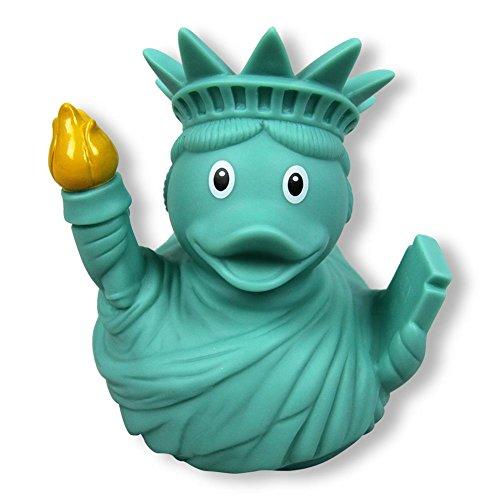 Lilalu Pato de Sonido para el baño de la Libertad, Pato de Goma, el Sonido de Pato, Pato para el baño, el Sonido de Pato, colector del muñeco de Nieve, Juguete de Goma para el baño, 1991