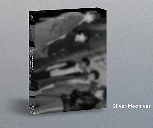 Day6 - [Moonrise] 2nd Album Silver Moon Ver CD+88p Photobook+1p Folding Poster(On-Pack)+Clear Cover Set+2p PhotoCard K-POP Sealed