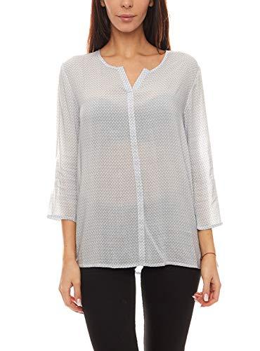 re.draft Bluse Shirt gemütliche Damen 3/4-Arm-Bluse Frühlings-Shirt Freizeit-Bluse...