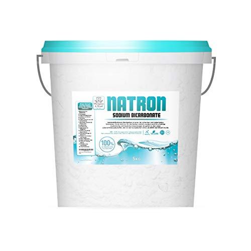 Natron Pulver 5 kg | Lebensmittelqualität | E500ii | Natriumhydrogencarbonat | Pharmazeutische Qualität | Natriumbicarbonat | Baking Soda | Sodium Bicarbonate in Premiumqualität von Thompson&Wood