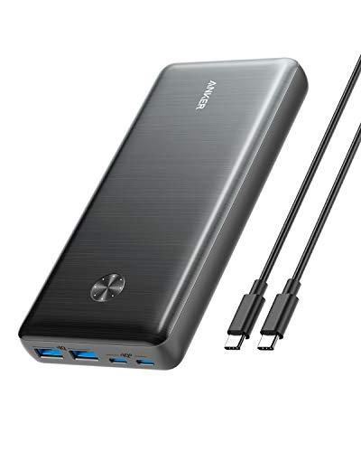 Anker PowerCore III Elite 25600 87W (PD対応 25600mAh 超大容量 モバイルバッテリー)【PowerIQ 3.0 (Gen2) / USB Power Delivery 対応/USB-C入出力ポート/低電流モード搭載/PSE認証済】MacBook Lenovo HP iPad iPhone Android 各種対応