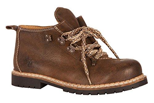 Spieth & Wensky Trachten Herren Schuh - Jonah - Rustik, Größe 43