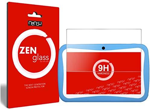 ZenGlass Flexible Glas-Folie kompatibel mit Padgene 7 Zoll Kinder Tablet Panzerfolie I Bildschirm-Schutzfolie 9H