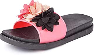 WMK Fashionable Flowers Casual Flip Flops for Women