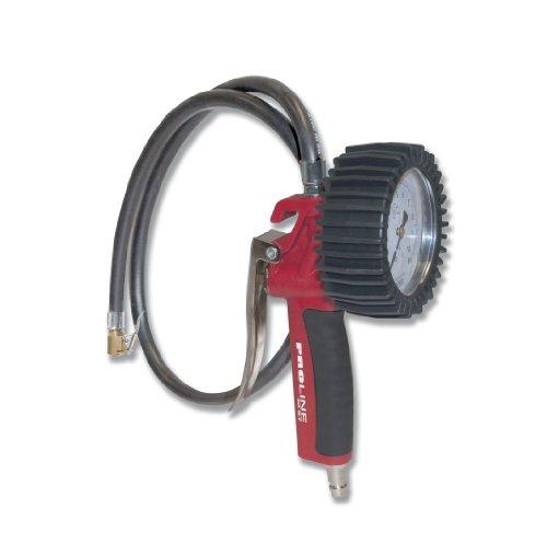 Cevik CA-60G-T/CEE - Accesorio De Neumatica Hinchador profesional de neumáticos homologado CE Nº 86/217, 0-10 bar. Manómetro con 63 mm de diam. Latiguillo 1 mt.