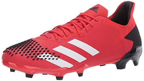 Adidas Predator 20.2 Chaussure de football pour homme, rouge (Rouge actif blanc noir), 43 EU